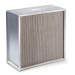 85%, 90%, 95% or even HEPA filters are available for these application and are installed as the last unit component on the hot side of the heaters