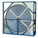 3 Ängstrom total energy recovery-wheel to minimize cross-contamination
