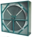 Total energy recovery-wheel with AHRI certified performances, labyrinth seals and welded frame construction